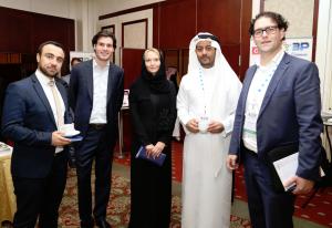 Daan Elffers, Bjorn Sanders, Zeljka Davis and partners at CSR Saudi Arabia