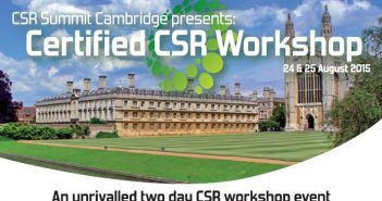 CSR Cambridge Workshop