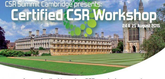 CSR Cambridge Workshop