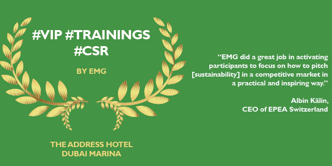 sustainability training courses