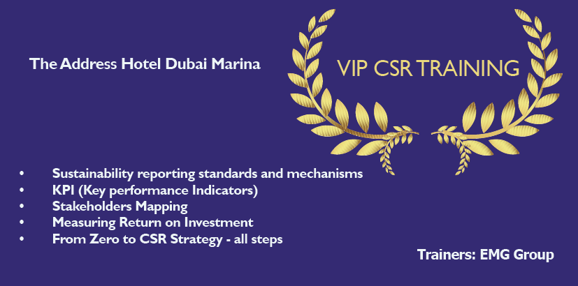 VIP Sustainability course
