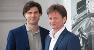 Daan Elffers (CEO EMG) with HH Pieter Christiaan van Oranje Nassau (Chairman EMG)