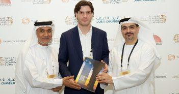 H.E. Tayeb Al Rais, Abdulla Mohammed Al Awar, Daan Elffers Islamic Reporting Initiative