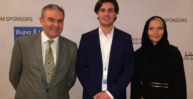 Zeljka Davis (right) CSR Saudi Arabia 2018