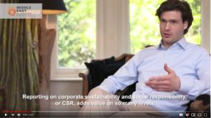 Daan Elffers talks about CSR reporting Middle East Business