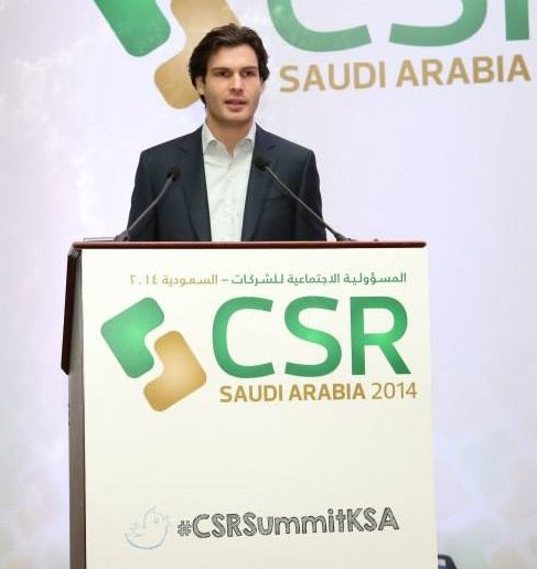 Daan Elffers Chairman CSR Saudi Arabia 2014
