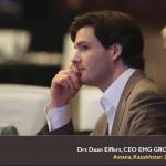 Daan Elffers EMG Founder in Kazakhstan