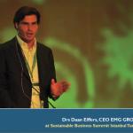 Daan Elffers Sustainable Business Summit Turkey