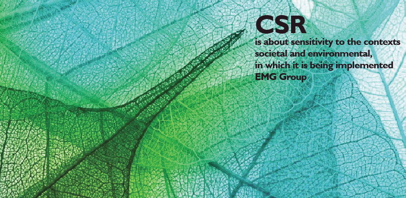 CSR is about...EMG quote